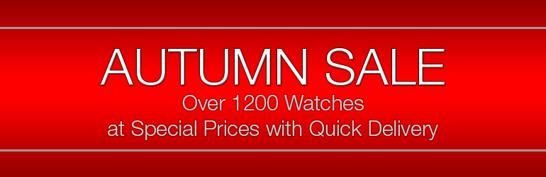 Buy new Swiss watches for ladies and for men on sale at discount prices. UK online retailer.