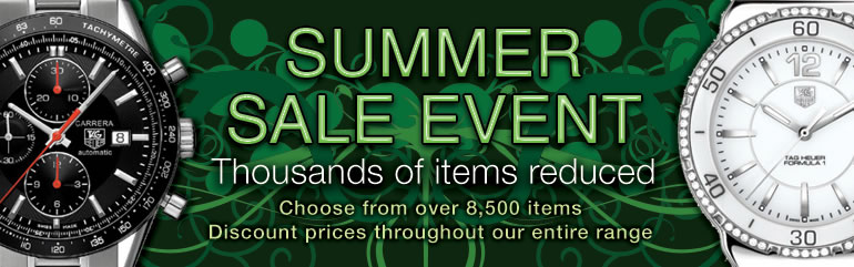 summer sale event at the watch source