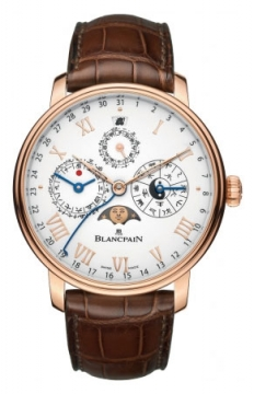 Blancpain Villeret Traditional Chinese Calendar Mens watch, model number - 00888-3631-55B, discount price of £39,185.00 from The Watch Source