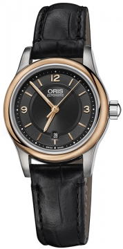 Oris Classic Date 28.5mm 01 561 7650 4334-07 5 14 11 watch
