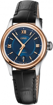 Buy this new Oris Classic Date 28.5mm 01 561 7718 4375-07 5 14 35 ladies watch for the discount price of £807.50. UK Retailer.