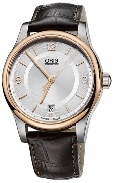 Oris Classic Date 37mm 01 733 7578 4331-07 5 18 10 watch