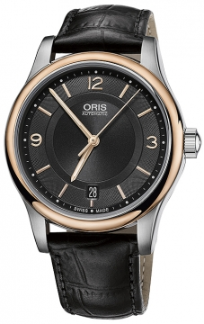 Oris Classic Date 37mm 01 733 7578 4334-07 5 18 11 watch