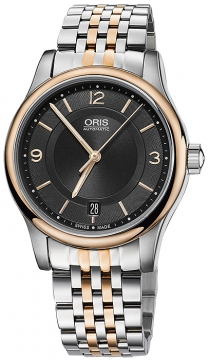 Oris Classic Date 37mm 01 733 7578 4334-07 8 18 63 watch