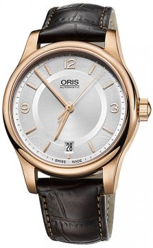 Oris Classic Date 37mm 01 733 7578 4831-07 6 18 10 watch