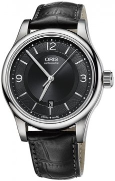 Oris Classic Date 42mm 01 733 7594 4034-07 5 20 11 watch