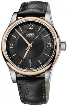 Oris Classic Date 42mm 01 733 7594 4334-07 5 20 11 watch