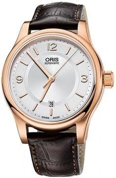 Oris Classic Date 42mm 01 733 7594 4831-07 6 20 12 watch