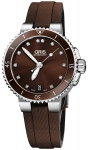 Oris Aquis Date Diamonds 36mm 01 733 7652 4192-07 5 18 12FC watch