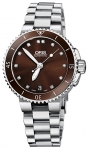 Oris Aquis Date Diamonds 36mm 01 733 7652 4192-07 8 18 01P watch