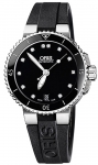 Oris Aquis Date Diamonds 36mm 01 733 7652 4194-07 4 18 34 watch
