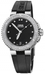 Oris Aquis Date Diamonds 36mm 01 733 7652 4994-07 4 18 34 watch