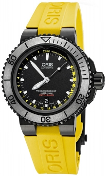 Oris Aquis Depth Gauge 46mm 01 733 7675 4754-Set RS watch
