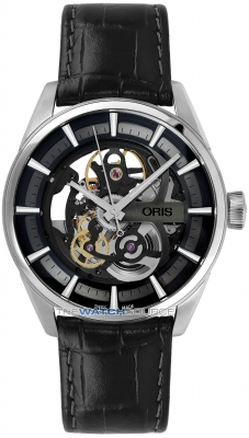 Buy this new Oris Artix Skeleton 01 734 7714 4054-07 5 19 81FC mens watch for the discount price of £1,623.00. UK Retailer.