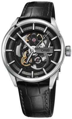 Buy this new Oris Artix Skeleton 01 734 7714 4054-07 5 19 81FC mens watch for the discount price of £1,683.00. UK Retailer.