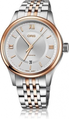 Buy this new Oris Classic Date 42mm 01 733 7719 4371-07 8 20 12 mens watch for the discount price of £990.00. UK Retailer.