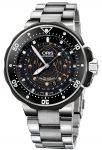 Oris ProDiver Pointer Moon 49mm 01 761 7682 7154-Set Northern Hemisphere watch