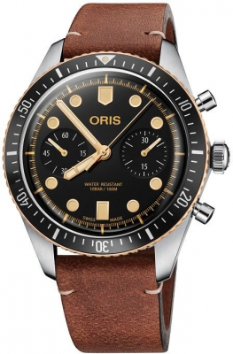 Oris Divers Sixty-Five Chronograph 01 771 7744 4354-07 5 21 45 watch