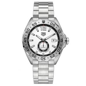 Buy this new Tag Heuer Formula 1 Automatic 43mm waz2013.ba0842 mens watch for the discount price of £1,232.00. UK Retailer.