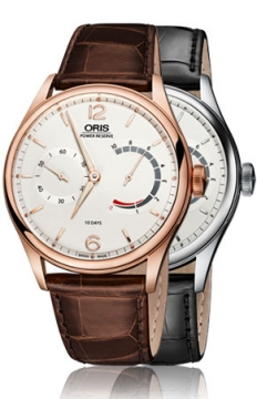 Oris 110 Years Limited Edition Mens watch, model number - 0111077006081-Set LS 0111077004081-Set LS, discount price of £13,700.00 from The Watch Source