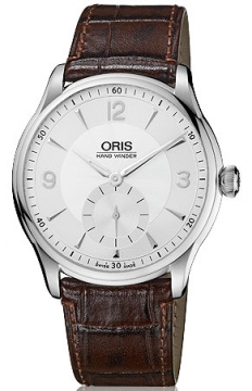 Oris Artelier Hand Winding, Small Second Mens watch, model number - 0139675804051-0752105, discount price of £1,000.00 from The Watch Source