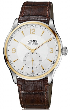 Oris Artelier Hand Winding, Small Second Mens watch, model number - 0139675804351-0752105, discount price of £1,040.00 from The Watch Source
