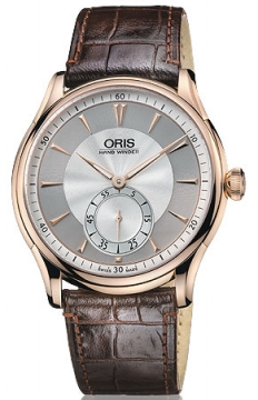 Oris Artelier Hand Winding, Small Second Mens watch, model number - 0139675806051-Set, discount price of £3,195.00 from The Watch Source