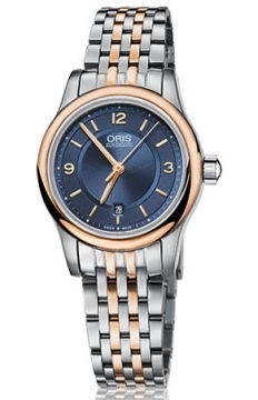 Oris Classic Date Ladies watch, model number - 0156176504335-0781463, discount price of £645.00 from The Watch Source
