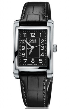 Oris Rectangular Date Mens watch, model number - 0156176564034-0751771FC, discount price of £810.00 from The Watch Source