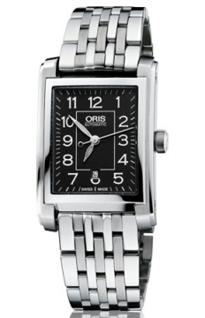 Oris Rectangular Date Mens watch, model number - 0156176564034-0781782, discount price of £865.00 from The Watch Source