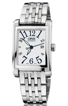 Oris Rectangular Date Midsize watch, model number - 0156176564061-0781782, discount price of £865.00 from The Watch Source