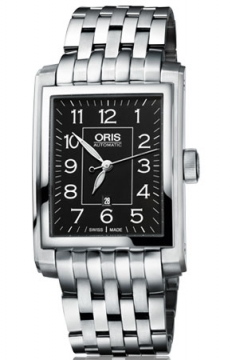 Oris Rectangular Date Mens watch, model number - 0156176574034-0782182, discount price of £865.00 from The Watch Source