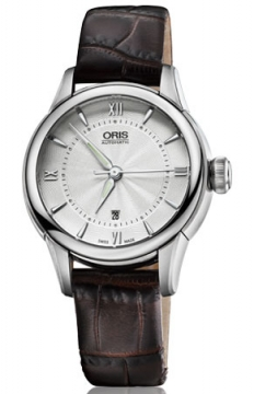 Oris Artelier Date 40mm Ladies watch, model number - 0156176874071-0751470FC, discount price of £720.00 from The Watch Source