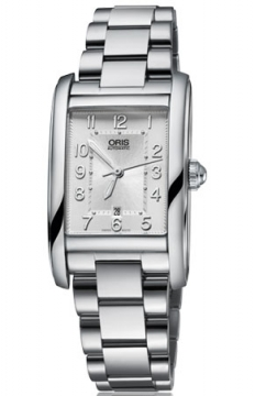 Oris Rectangular Date Midsize watch, model number - 0156176924061-0781820, discount price of £890.00 from The Watch Source