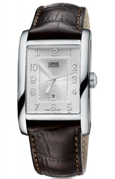 Oris Rectangular Date Mens watch, model number - 0156176934061-0752220FC, discount price of £835.00 from The Watch Source