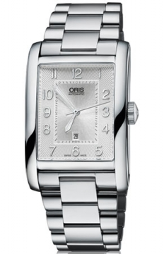 Oris Rectangular Date Mens watch, model number - 0156176934061-0782220, discount price of £890.00 from The Watch Source