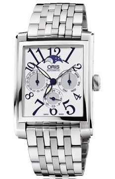 Oris Rectangular Complication Mens watch, model number - 0158276584061-0782382, discount price of £1,185.00 from The Watch Source