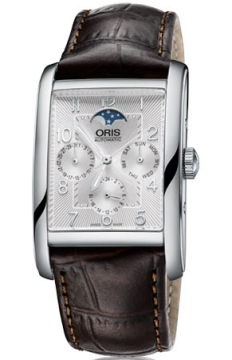 Oris Rectangular Complication Mens watch, model number - 0158276944061-0752420FC, discount price of £1,160.00 from The Watch Source