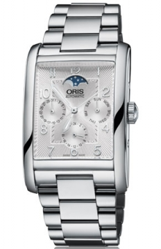 Oris Rectangular Complication Mens watch, model number - 0158276944061-0782420, discount price of £1,220.00 from The Watch Source
