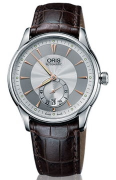 Oris Artelier Small Second, Date Mens watch, model number - 0162375824051-0752148, discount price of £785.00 from The Watch Source