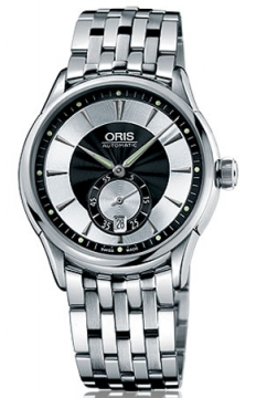 Oris Artelier Small Second, Date Mens watch, model number - 0162375824054-0782173, discount price of £940.00 from The Watch Source