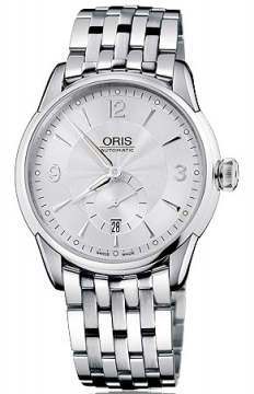Oris Artelier Small Second, Date Mens watch, model number - 0162375824071-0782173, discount price of £1,115.00 from The Watch Source