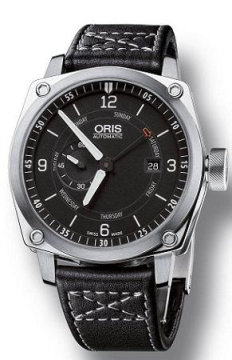Oris BC4 Small Second, Pointer Day Mens watch, model number - 0164576174174-0752258FC, discount price of £1,105.00 from The Watch Source