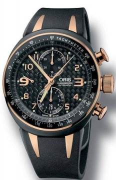 Oris TT3 Chronograph Mens watch, model number - 0167475877764-0742803R, discount price of £1,795.00 from The Watch Source