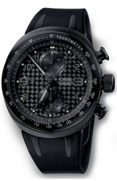 Oris TT3 Chronograph Black Mens watch, model number - 0167476117764-0742802B, discount price of £2,000.00 from The Watch Source