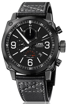 Oris BC4 Chronograph Mens watch, model number - 0167476334794-0752458BFC, discount price of £1,865.00 from The Watch Source