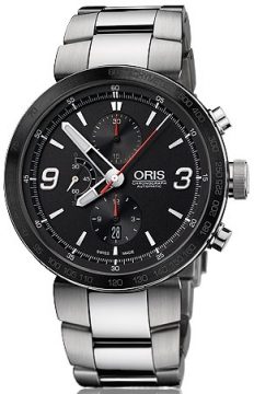 Oris TT1 Chronograph Mens watch, model number - 0167476594174-0782510, discount price of £1,620.00 from The Watch Source