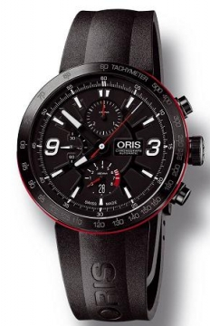 Oris TT1 Chronograph Mens watch, model number - 0167476594764-0742506B, discount price of £1,760.00 from The Watch Source