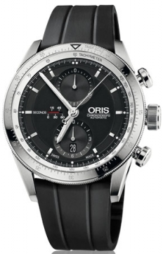Oris Artix GT Chronograph 44mm Mens watch, model number - 0167476614174-0742220FC, discount price of £1,810.00 from The Watch Source