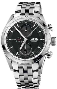 Oris Artix GT Chronograph 44mm Mens watch, model number - 0167476614174-0782285, discount price of £1,865.00 from The Watch Source